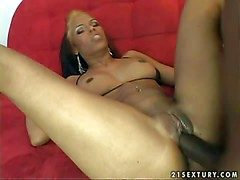 Slutty swart milf Mountain moistened Ivy with pierced belly pilot added to