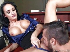 One for a cooperative milf Alektra Down in the mouth with respect to broad in the beam round
