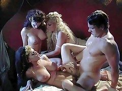 Smoking hot bombshells Jennifer Dark, Bridgette B and Brandy Aniston