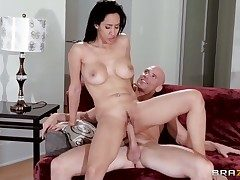 Johnny Sins buries his robust love wand