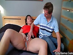 Cock wanted BBW seduces bashful guy