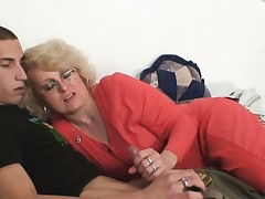 Wifey finds him fucking mom in law and gets insane